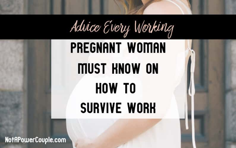 Image for Advice For Pregnant Working Women