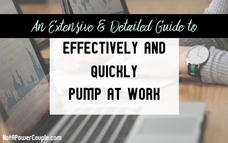 An Extensive and Detailed Guide to Effectively and Quickly Pump at Work