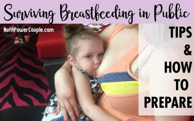 Surviving Breastfeeding in Public: Tips & How to Prepare