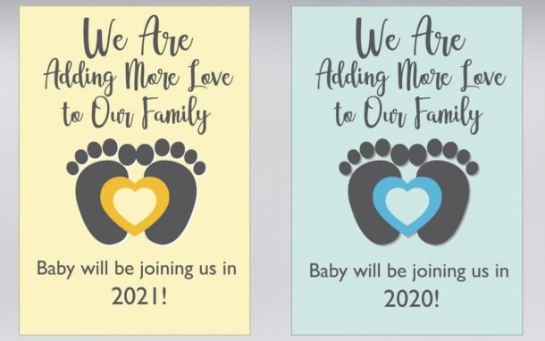 New Baby Pregnancy Announcements